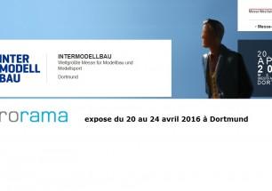 Microrama expose à Intermodellbau Dortmund 2016