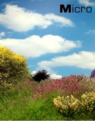 Tutoriel 1 Magigras : Comment réaliser l'herbe et les arbustes en miniature