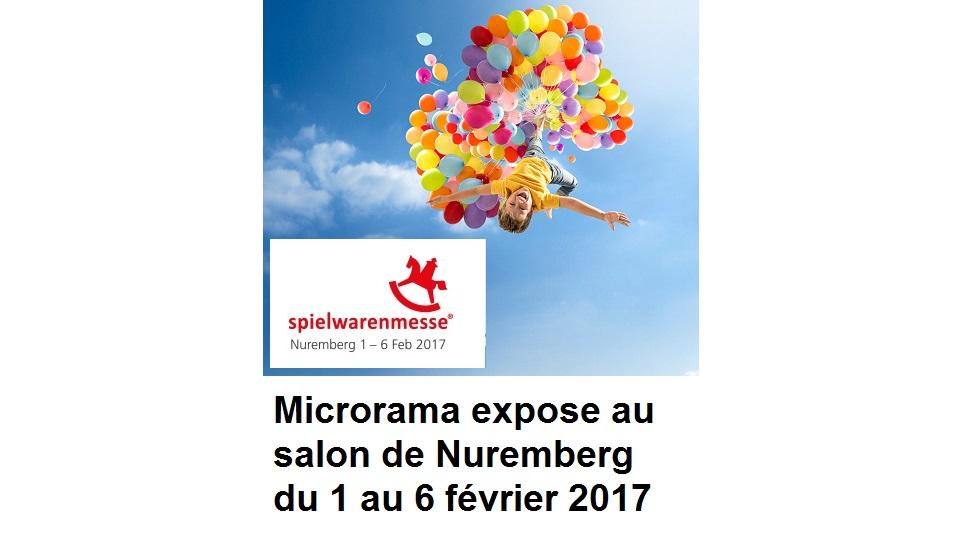 salon Spielwarenmesse nuremberg 2017 microrama